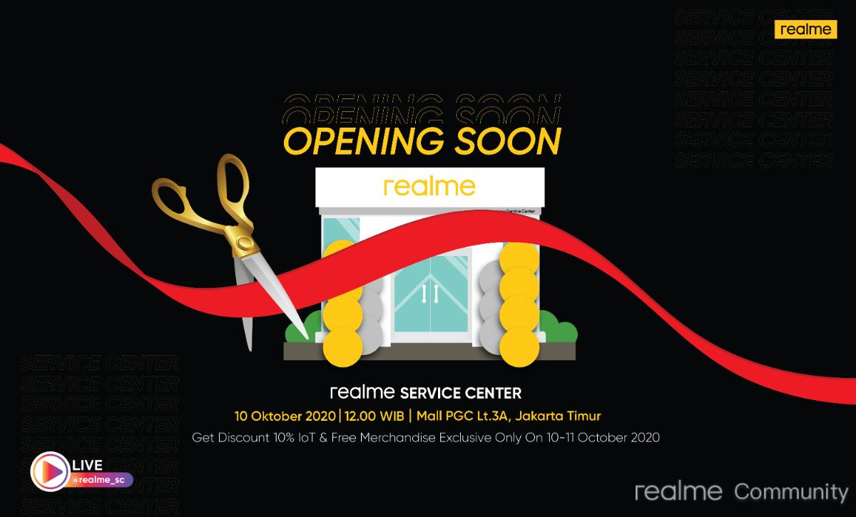 Realme Service Center Grand Opening 10 Oktober 2020 Realme Community