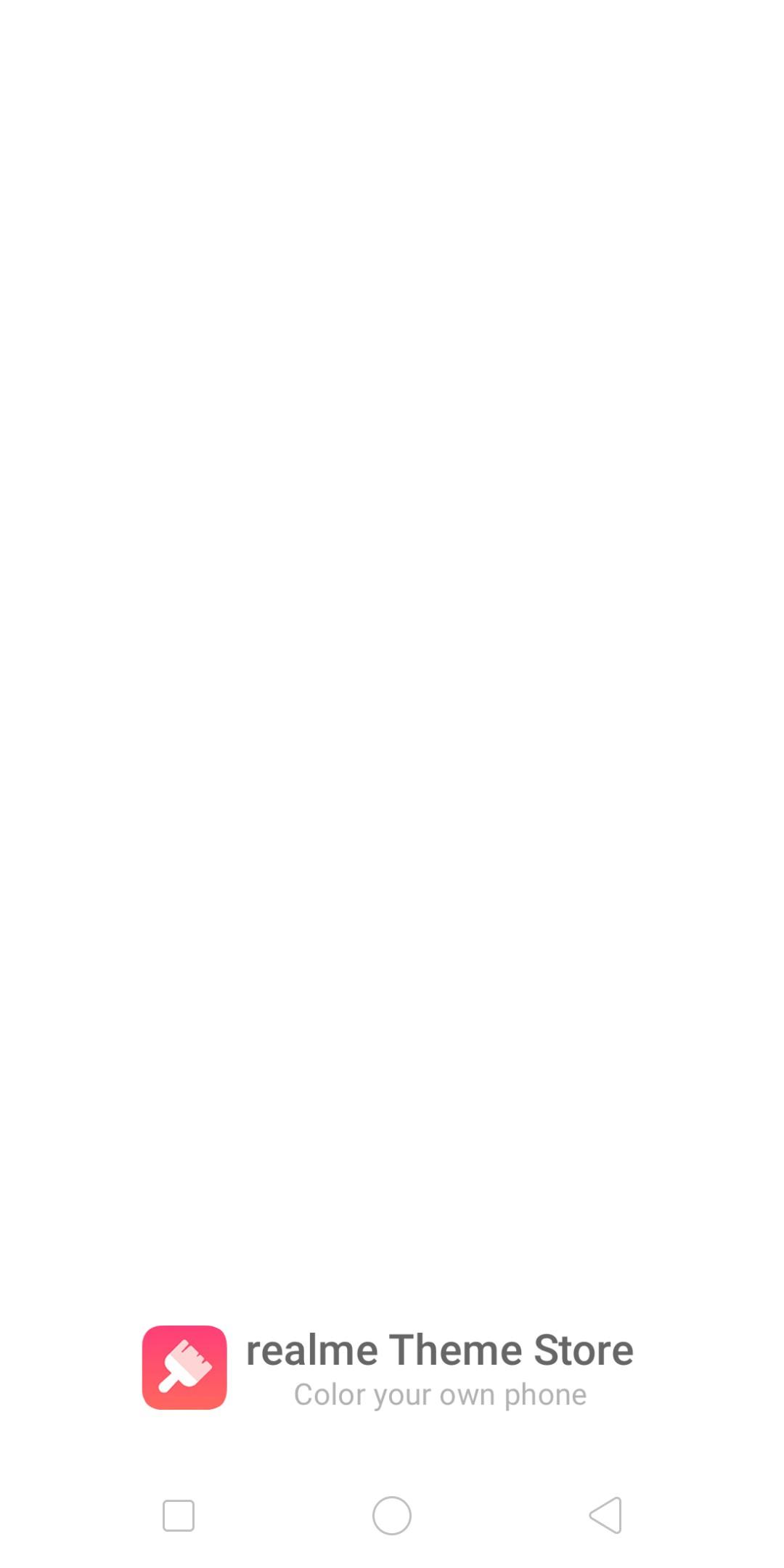 Realme Theme Store - Beta Download