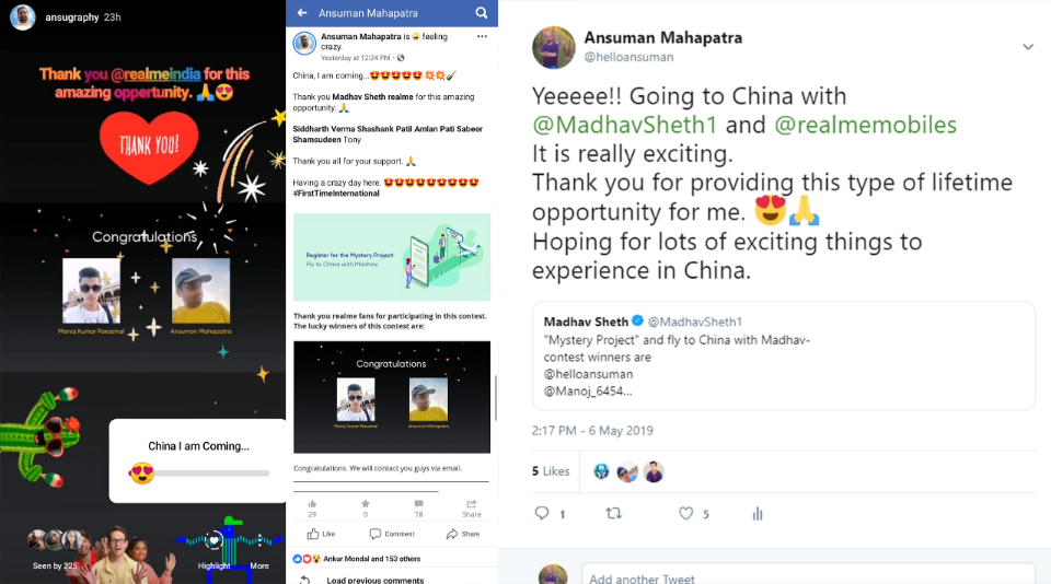 China Tour with realme Community Part-1: Getting ready (by Ansuman)