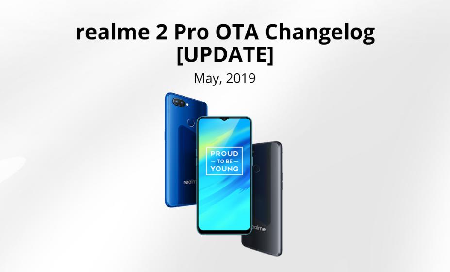 UPDATE] ColorOS 6 Official OTA for the realme 2 Pro - realme