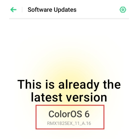 A 16] A Much Awaited Software Update For realme 3