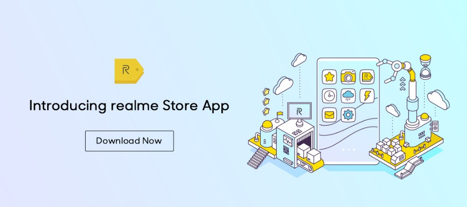 Introducing realme Store App on Google Play Store! Download