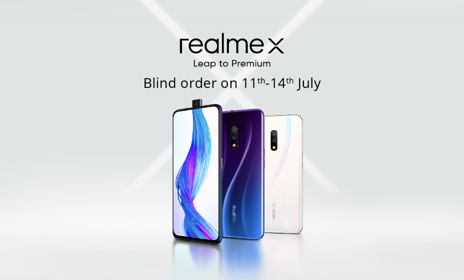 Realme X Blind Order July   Pay  E  B And Get  E  B Off In The First Sale