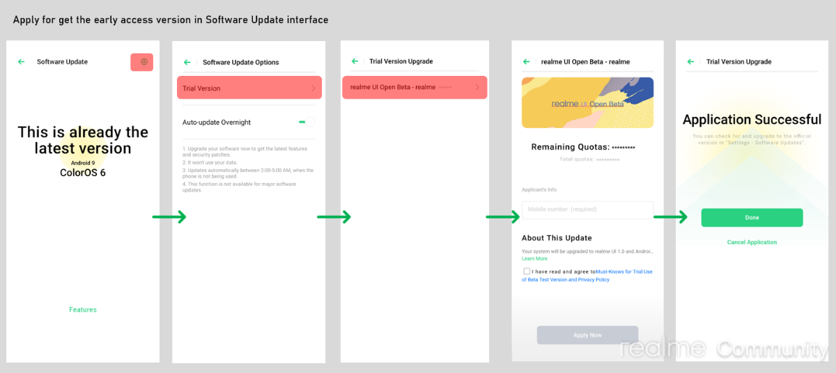Hurry Up Realme UI Beta Update Early Access Open For Realme 5s Users Opened Again [RMX1925EX_11_C.37] - Realme Updates