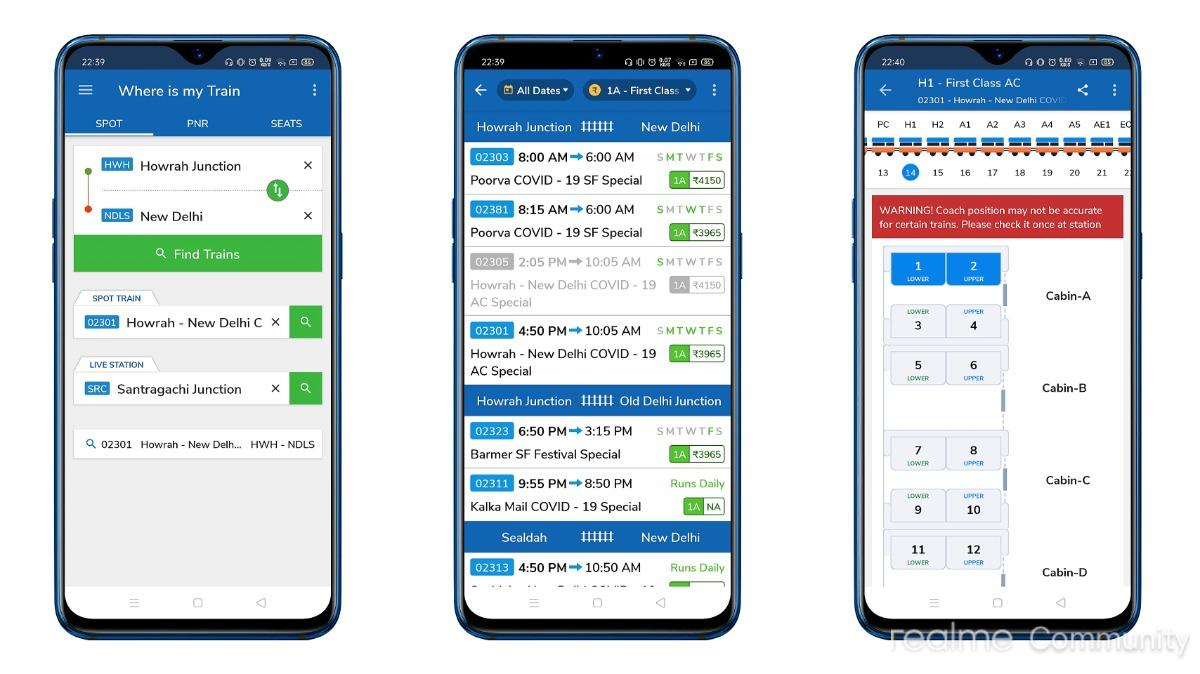 [App Review] Where is my Train : Indian Railway Train Status