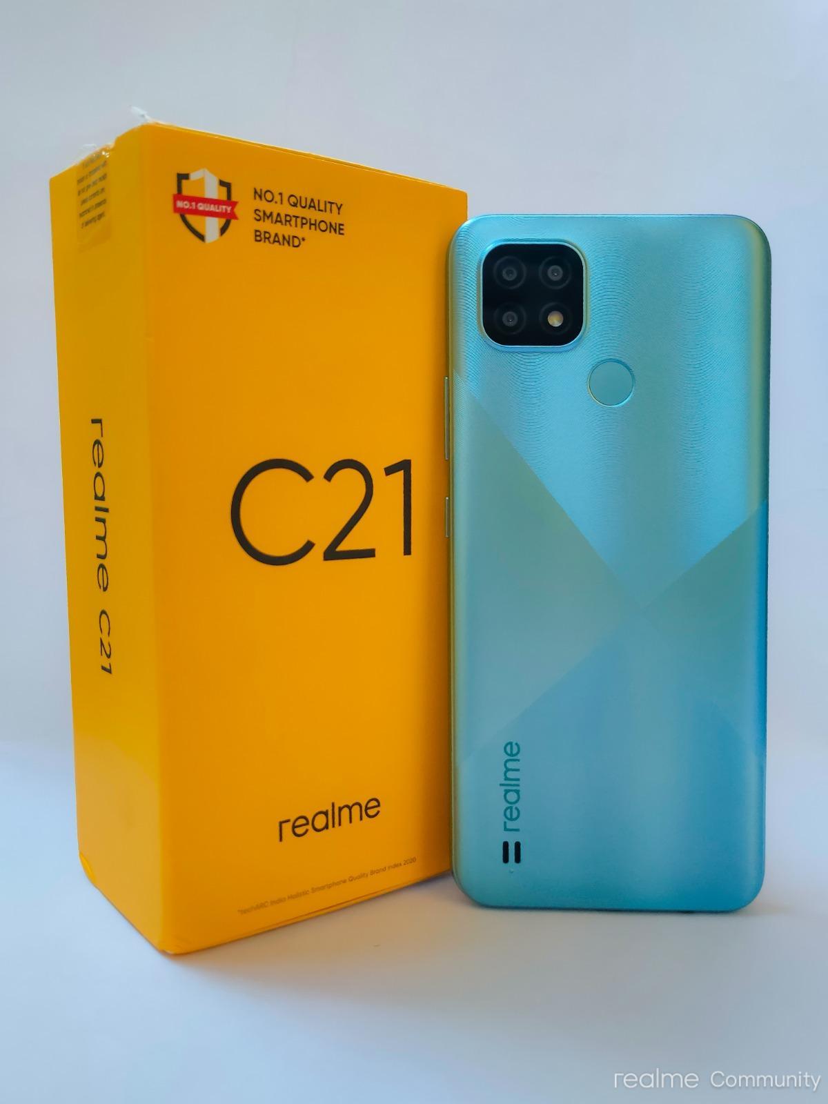 realme C21 (Cross Blue